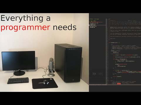 EVERYTHING A PROGRAMMER NEEDS | MY SETUP
