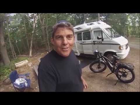 RADROVER - Flat Tire Repair! NOT a Travel Video, Replace Rear Tire Tube. Rad Power Bikes - E-Bike