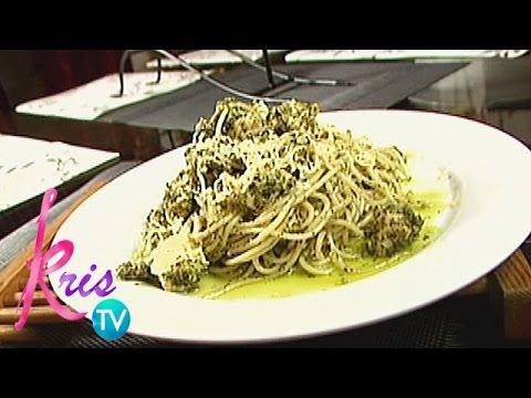 Kris TV: Jed's Chicken Pesto Pasta
