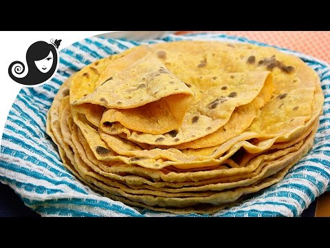 Sweet Potato Flatbread (Roti) | Oil-free + Yeast-free + Vegan/Vegetarian Recipe