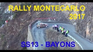 Rally Monte Carlo 2017 - SS13 BAYONS