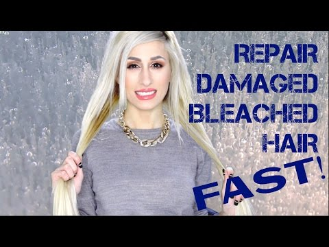 HOW I SAVED MY DAMAGED BLEACHED LONG HAIR FAST ! | DYNA ❤