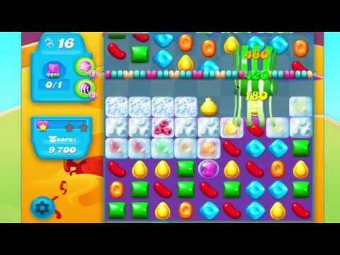 Candy Crush Soda Saga Level 244 No Booster HARD CANDY STRING