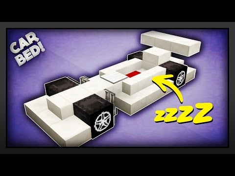 Minecraft - How To Make A Car Bed