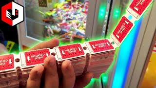 LITERALLY Winning ALL The Tickets! | Part 2 of 2 | Ticket Circus Coin Pusher Arcade JACKPOT!