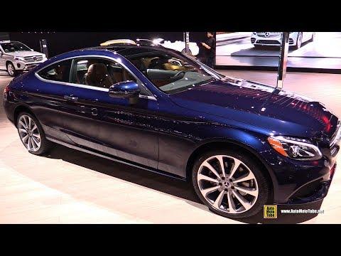 2018 Mercedes C300 Coupe 4Matic - Exterior and Interior Walkaround - 2017 LA Auto Show