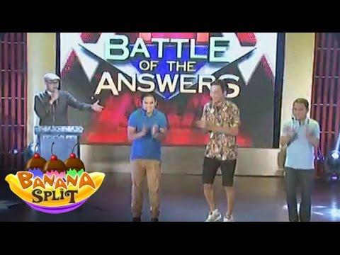 BANANA SPLIT: Battle of the Answer