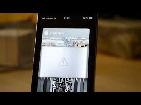 iOS 6 - Passbook Shredder Animation