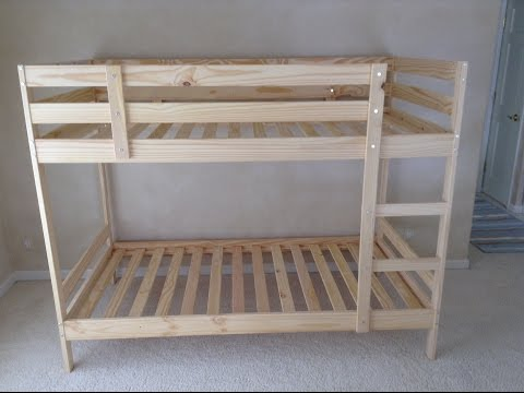 Ikea Mydal Bunk Bed Assembly Tips and Tricks Tutorial