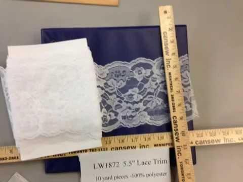 hometex Lace trim 5.5