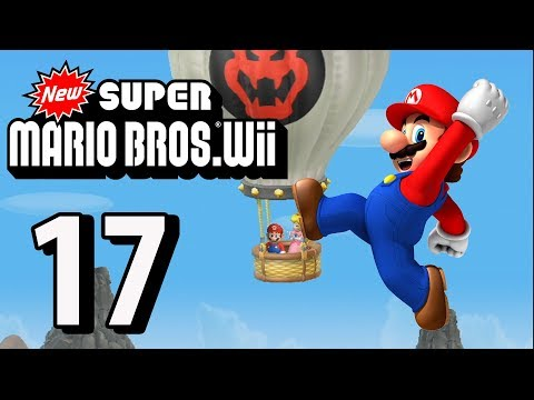 New Super Mario Bros. Wii - Part 17 (4 Player, 2018)
