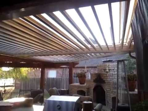 Arcadia Louvered Roof System