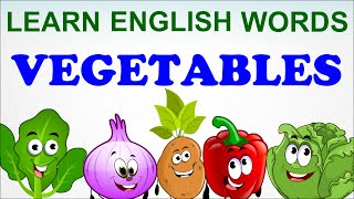 Vegetables Compilation Pre School Learn English Words Spelling Video
