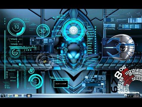 Too alienware desktop themes not