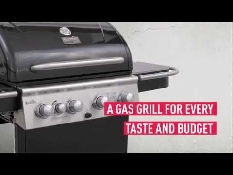 The Char-Broil Classic 4 Burner Gas Grill