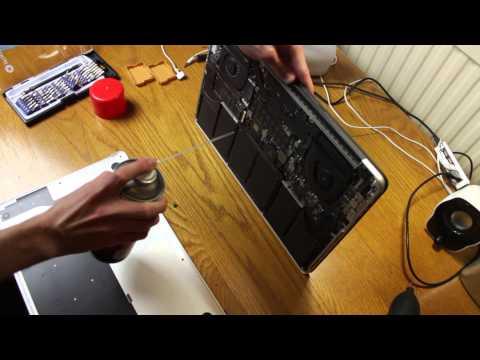 How to Open Retina MacBook Pro to Clean Dust