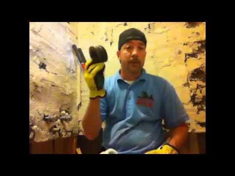 Convert cast iron pipe to pvc