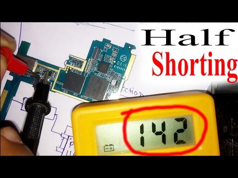 Half shorting    What is half shorting in mobile PCB ? Deeply Explained with solution in hindi