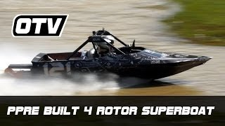 Raw: Ppre Quad Rotary 1300hp Jetsprint Superboat