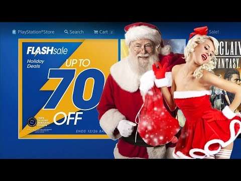 PS4 FLASH sale December Christmas 2016