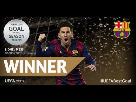 Leo Messi, Goal of the Season Champions League 2014/15