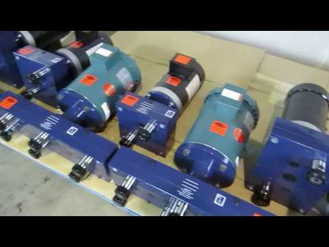 Motor Driven Drill Heads for Many Hole Processes by AutoDrill