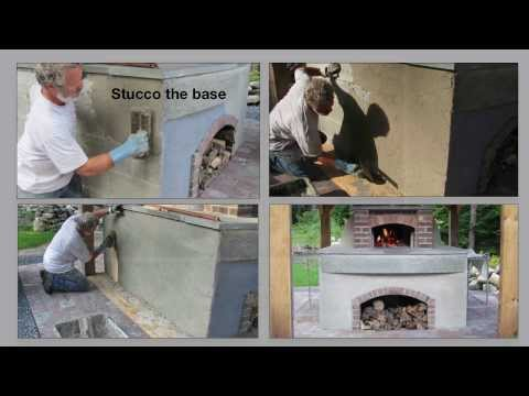 Detailed How to Build an Authentic Pompeii Pizza Oven, Part 3 of 4 ~ Insulate & Stucco the DOME!