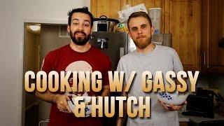 COOKING W/ GASSY & HUTCH! - Beef Albondigas w/ Sautéed Summer Squash & Pan Con Tomate