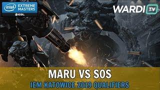 Maru vs sOs (TvP) - IEM Katowice 2019 Server Qualifiers