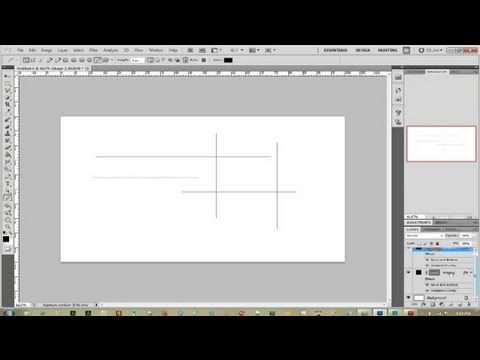 How to Draw Lines on Photoshop Without a Graphic Tablet : Photoshop Help
