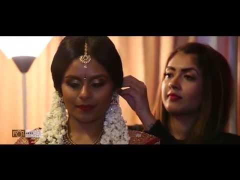 Hindu Bridal Hair and Make up by Vithya