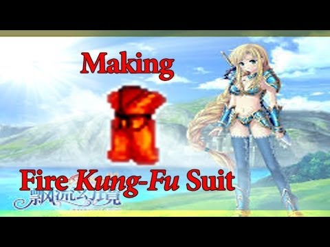 Wonderland Online- How to Make Fire Kung-Fu Suit(Level 70)