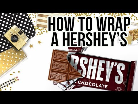 How to Wrap a Hershey Bar