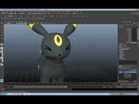 Animating 2D Eyes From a Texture in Maya
