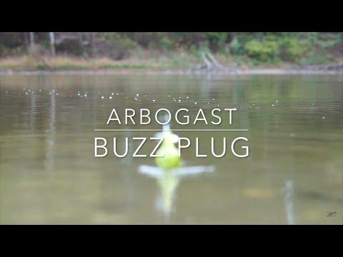 I Threw the Arbogast Buzz Plug Today and I Kinda Sorta Filmed It....