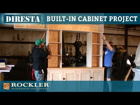 DiResta | Built-In Cabinet and Shelves Project