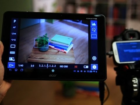 CNET How To - Control a dSLR camera with your Android device