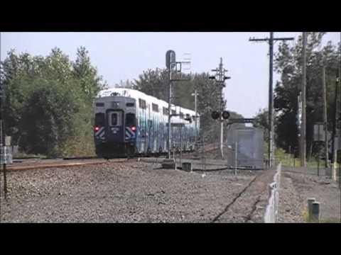 SOUNDER Commuter Trains through Kent.