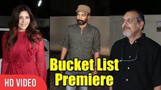Bucket List Marathi Movie GRAND Premiere | Madhuri Dixit Nene