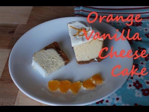 Orange-Vanilla Cheesecake