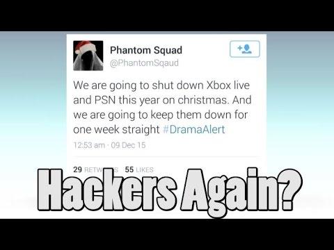 Hacker Group Phantom Squad Taking Down Xbox and Sony Servers on Christmas?