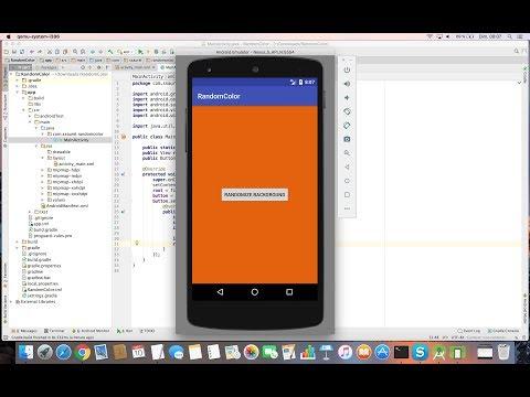 Create a Random Color Generator App with Android Studio