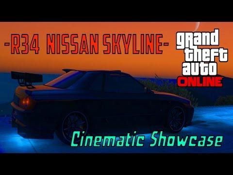 Elegy Retro Custom (Nissan Skyline) Cinematic Showcase | GTA 5