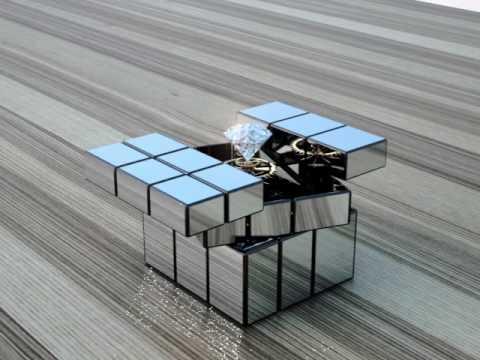 bang bang  movie 3D  diamond and  cube