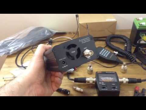 Two way radio bag upgrade components and update