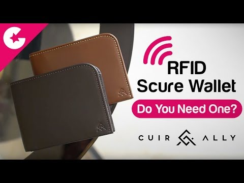 RFID Secure Wallet - DO YOU NEED ONE?? - Cuir Ally Stark