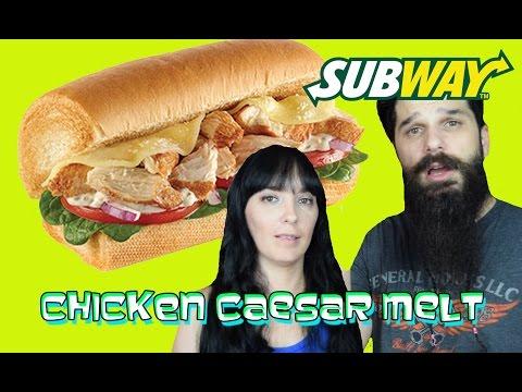 Subway - Chicken Caesar Melt REVIEW