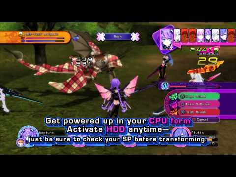 Hyperdimension Neptunia Victory on PS3