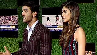 Sushant & Kriti GETS ANGRY On Reporter For Calling Raabta COPIED