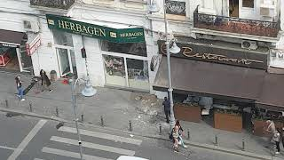 Atentie, clădirile de pe Calea Victoriei se prăbușesc